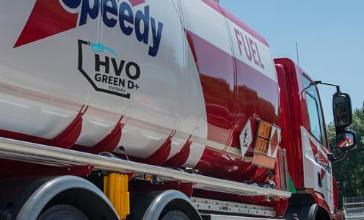 HVO Fuel tanker