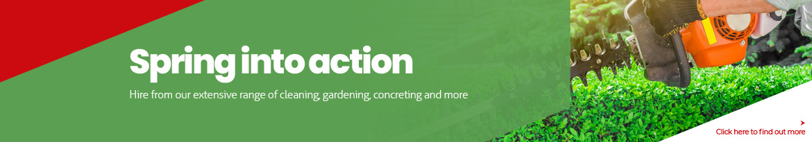 Spring into action with our extensive range of outdoor access, concreting essentials and more.