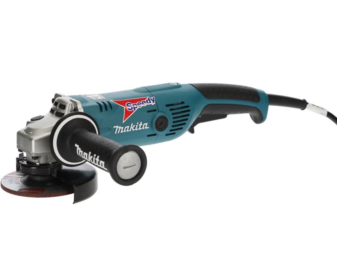 An abrasive wheel power tool