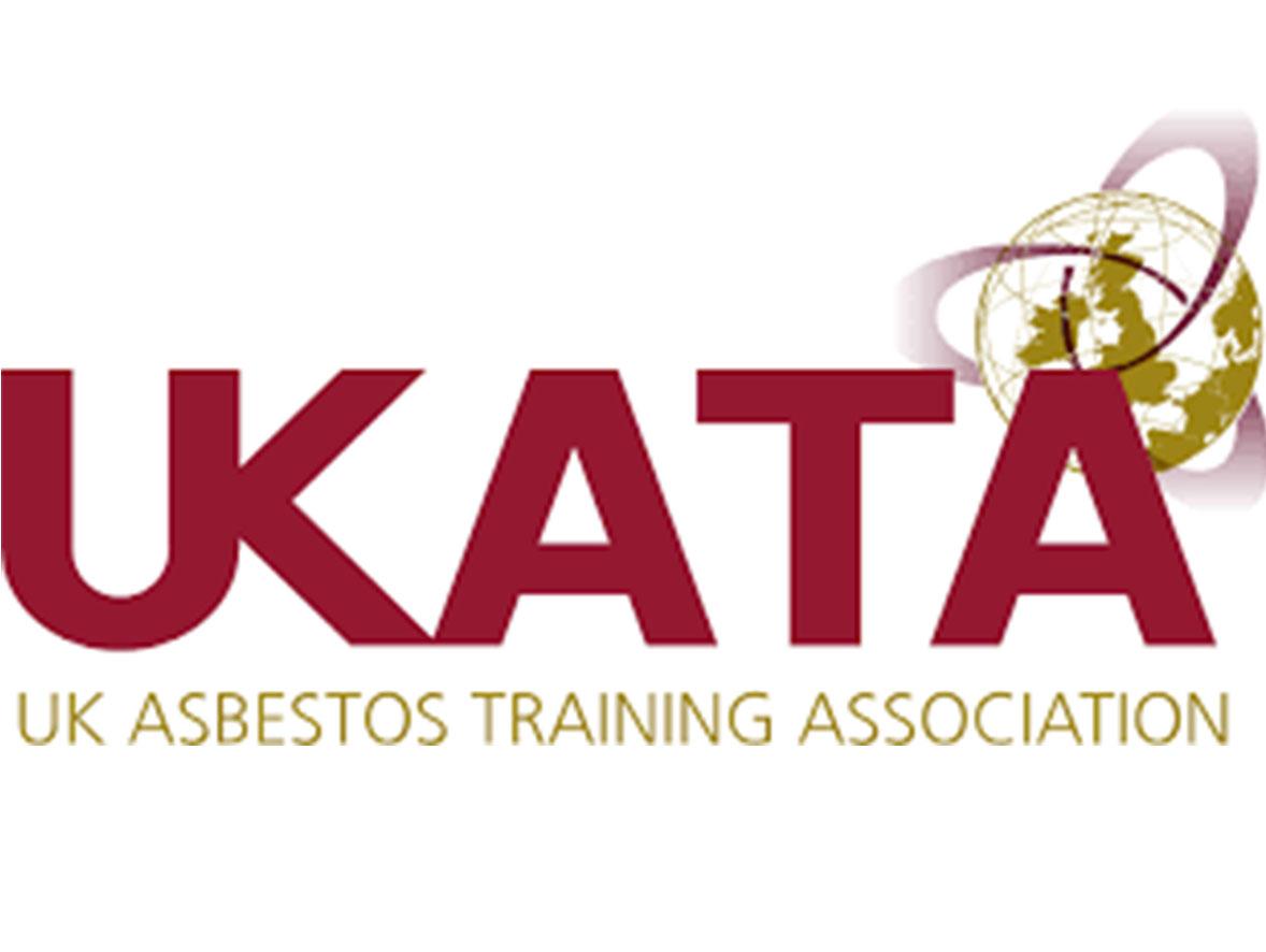 The UKATA (UK Asbestos Training Association) accreditation symbol