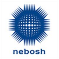 The NEBOSH certification symbol in blue